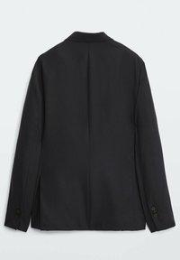 Massimo Dutti - SLIM-FIT - Suit jacket - dark blue - 3