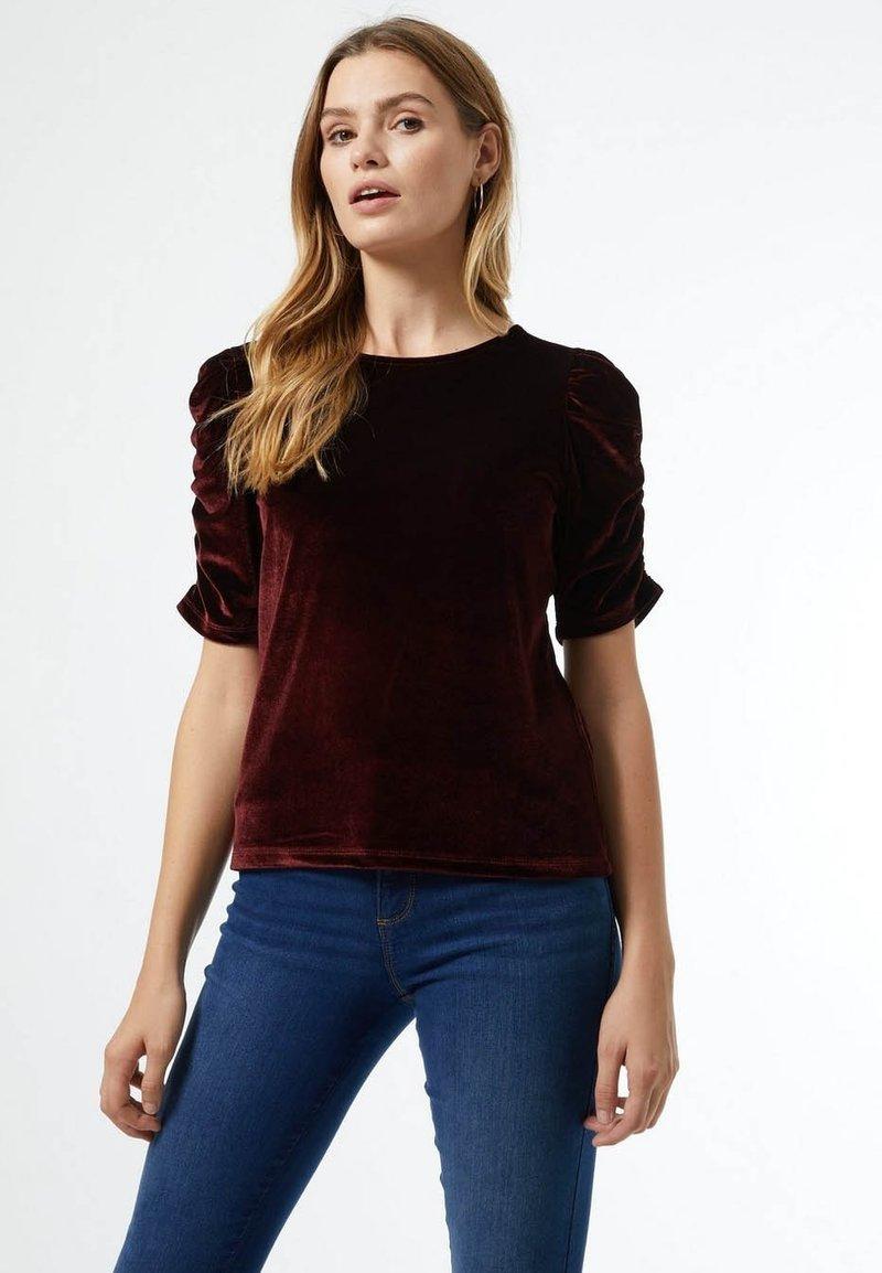 Dorothy Perkins - Print T-shirt - red