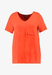Dorothy Perkins Curve - V POCKET TEE - T-shirts - orange - 3