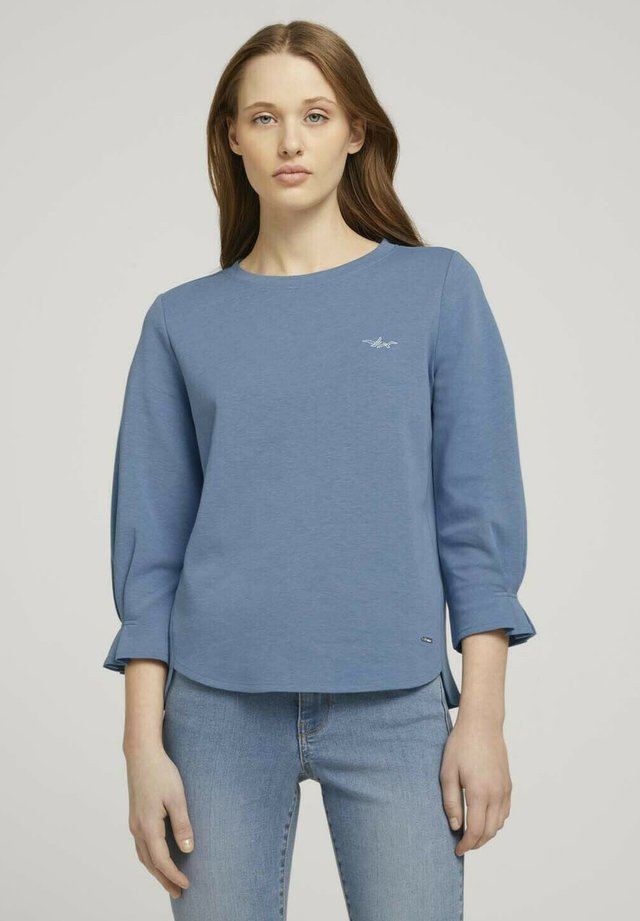Pitkähihainen paita - soft mid blue melange