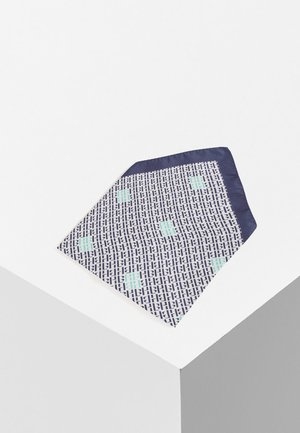 Pocket square - dark blue