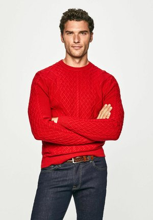 CABLE CREW - Jumper - red