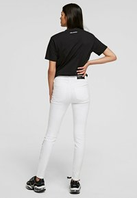 KARL LAGERFELD - Trousers - white denim - 2