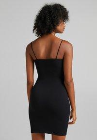 Bershka - Shift dress - black - 2
