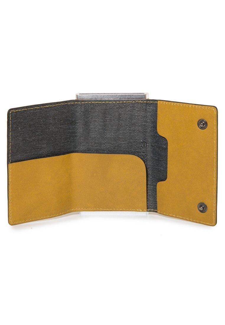 Piquadro SQUARE - Visitenkartenetui - yellow/gelb - Herrentaschen RBlIR