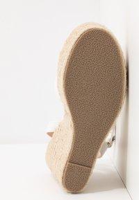 RAID - ELISHA - High heeled sandals - white - 4