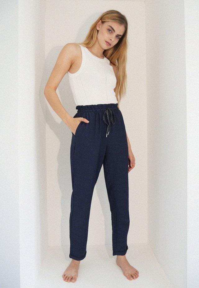 Pantalones - marineblau