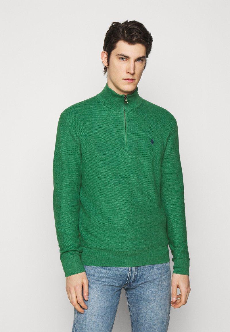 Polo Ralph Lauren - LONG SLEEVE  - Stickad tröja - potomac green heather
