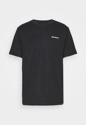 BOX REPEAT - Print T-shirt - black