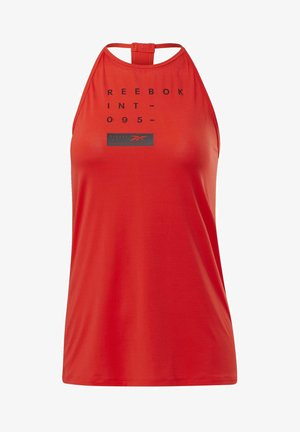 ACTVICHILL GRAPHIC TANK TOP - Toppe - red