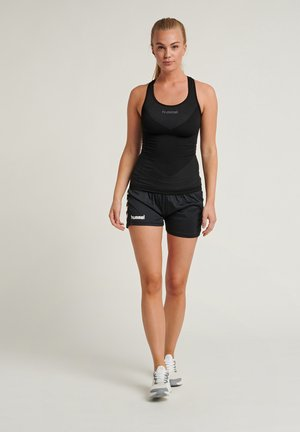 CORE - Sports shorts - mottled black