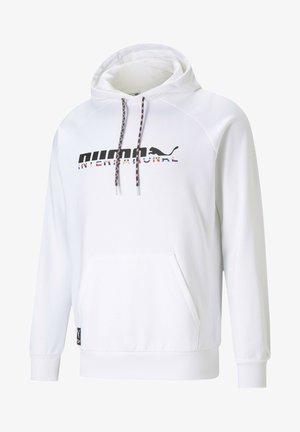 INTERNATIONAL GRAPHIC  - Hoodie - puma white