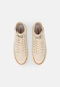 Levi's® - SQUARE  - Sneakers alte - ecru - 3