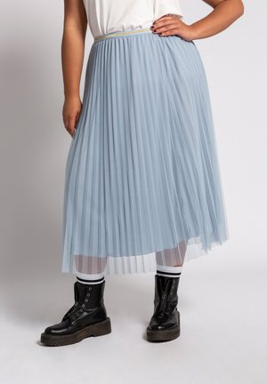 A-line skirt - bleu pâle