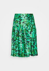 Simply Be - MIDI SKIRT - A-line skirt - green - 3