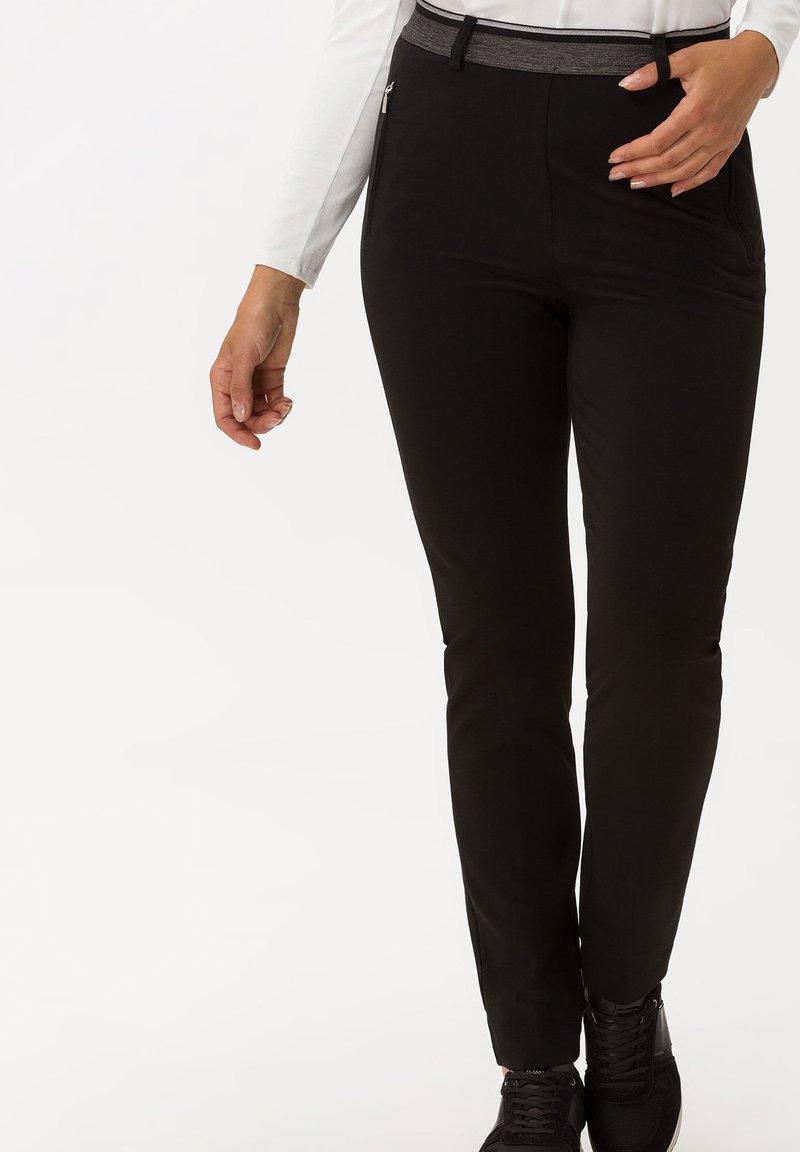 BRAX - STYLE LILLYTH - Trousers - black