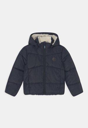 NKMMAKE PUFFER CAMP - Winter jacket - dark sapphire