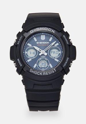 Chronograph watch - black/blue