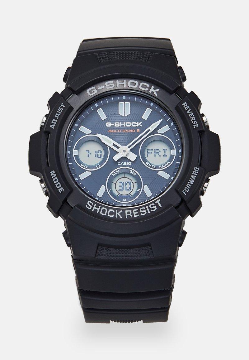 G-SHOCK - Hodinky se stopkami - black/blue