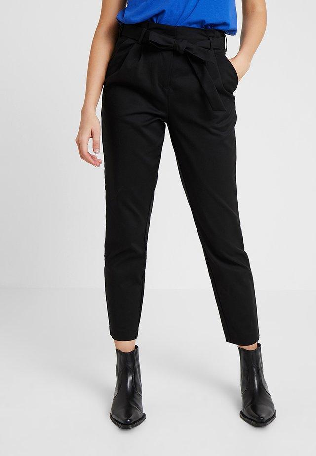 VISOFINA PANT - Pantaloni - black