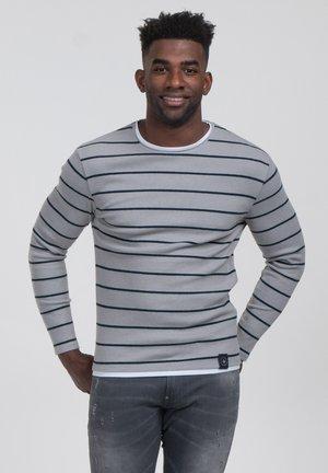 ORLANDO ROUND - Stickad tröja - silver