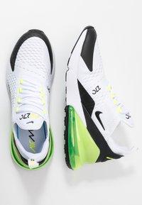 Nike Sportswear - AIR MAX 270 ESS - Sneakers - white/black/volt - 1