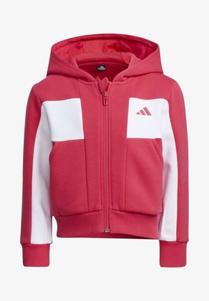 FLEECE JACKET - Felpa aperta - pink