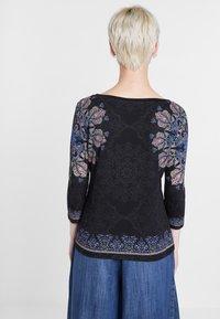 Desigual - CANNES - Langærmede T-shirts - black - 2