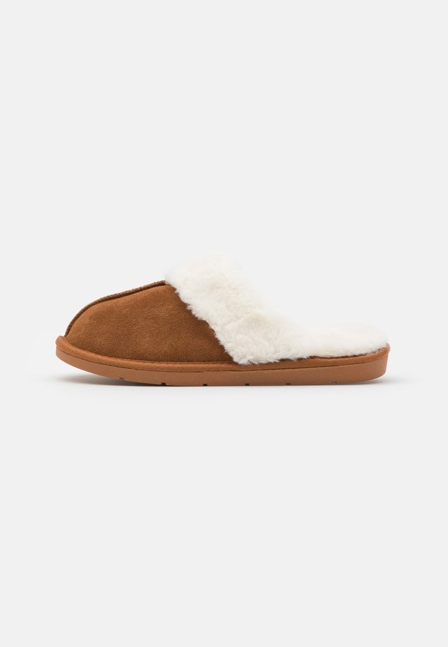 MULE - Pantoffels - tan