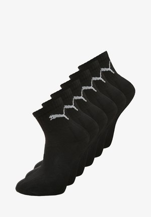 6 PACK - Sports socks - black