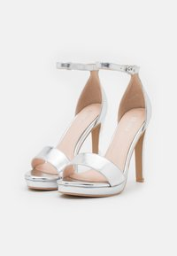BEBO - CIMONA - High heeled sandals - silver - 2