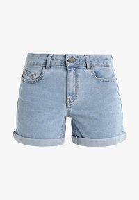 Noisy May - NMBE LUCY FOLD - Shorts vaqueros - light blue denim - 3