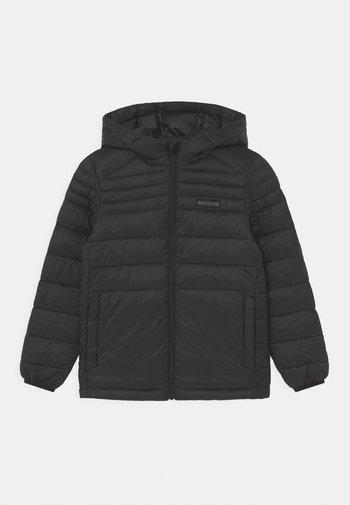JJEACE PUFFER HOOD JR - Winter jacket - black