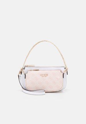 MIKA DOUBLE POUCH CROSSBODY SET - Skulderveske - blush
