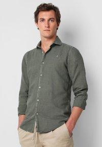 Scalpers - SKULL  - Shirt - khaki - 0