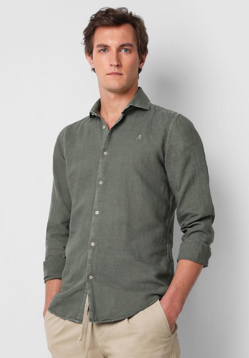 Scalpers - SKULL  - Shirt - khaki
