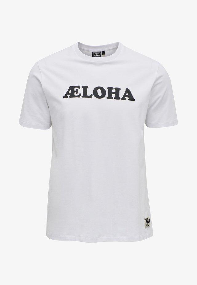 WEST COAST - T-Shirt print - white