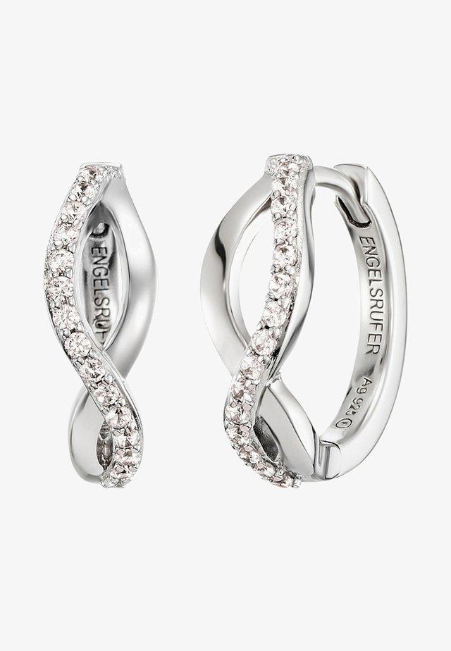 PARADISE - Earrings - silver-coloured
