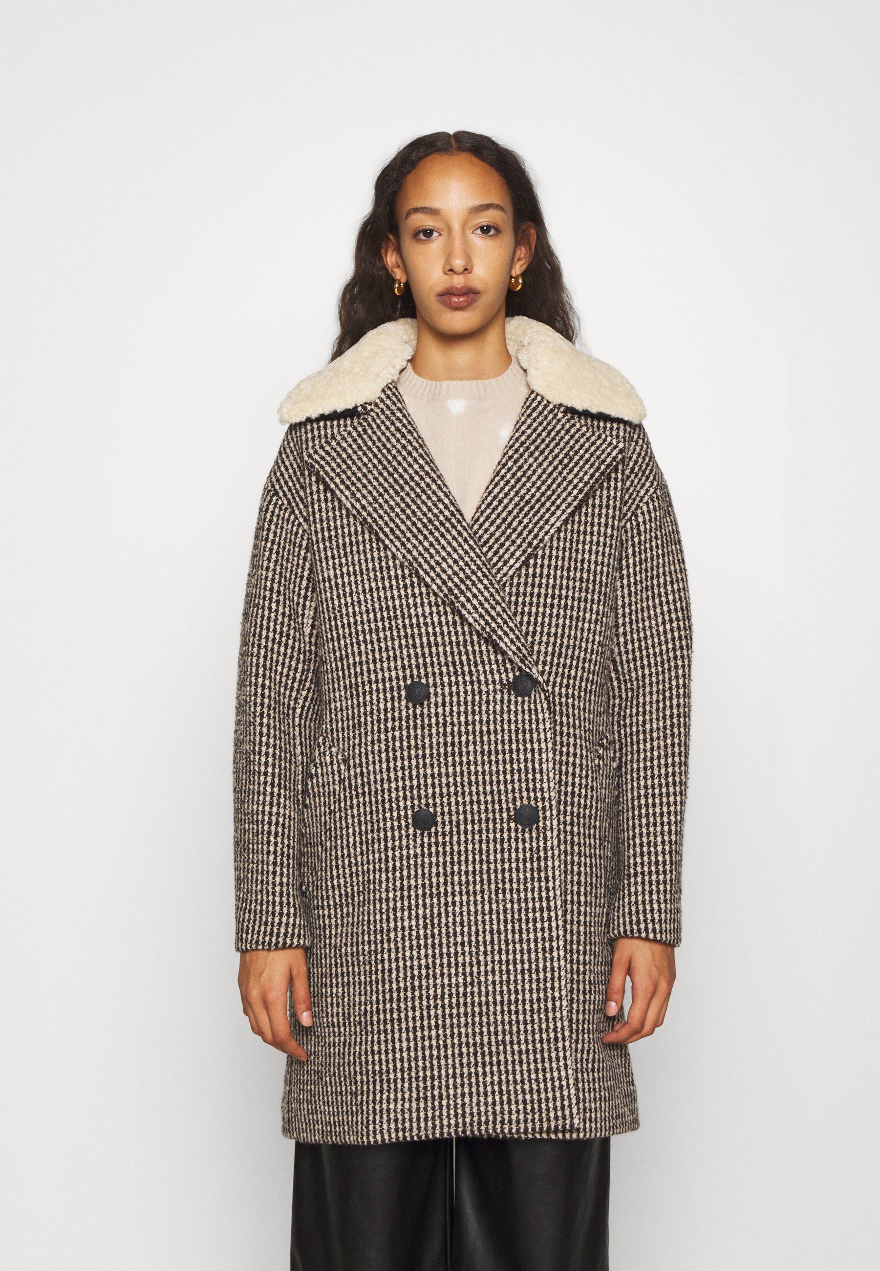Damen NINI PLAID COAT - Klassischer Mantel