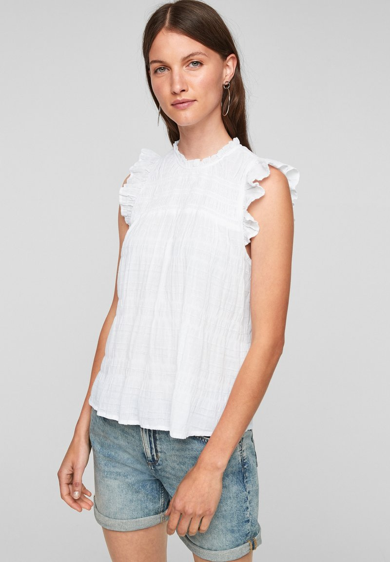 QS by s.Oliver - Blouse - white