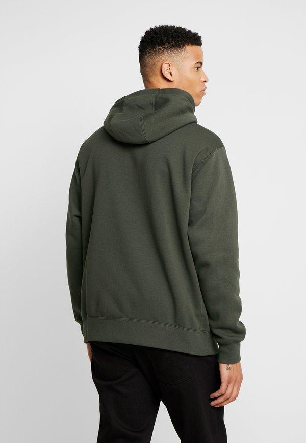 Nike Sportswear CLUB HOODIE - Bluza rozpinana - sequoia/oliwkowy Odzież Męska YUFO