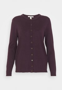 edc by Esprit - BASIC  - Cardigan - aubergine - 0