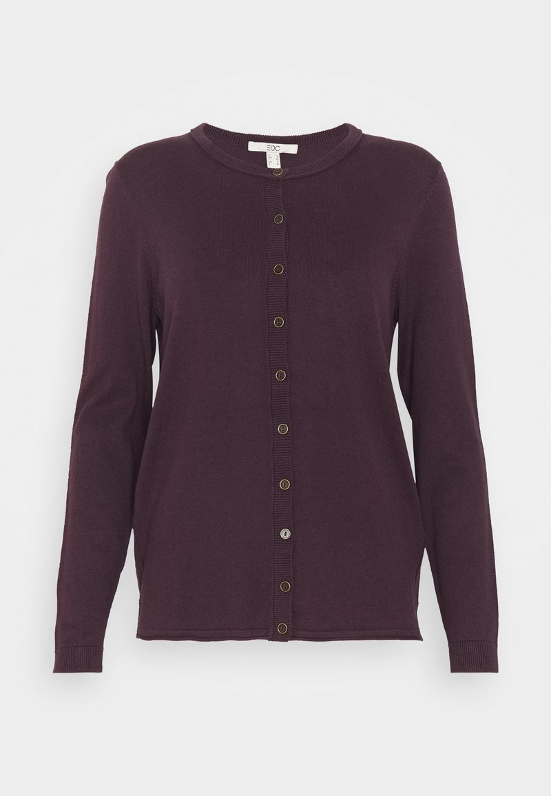 edc by Esprit - BASIC  - Cardigan - aubergine