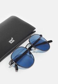 Mont Blanc - Sunglasses - ruthenium/havana/blue - 4