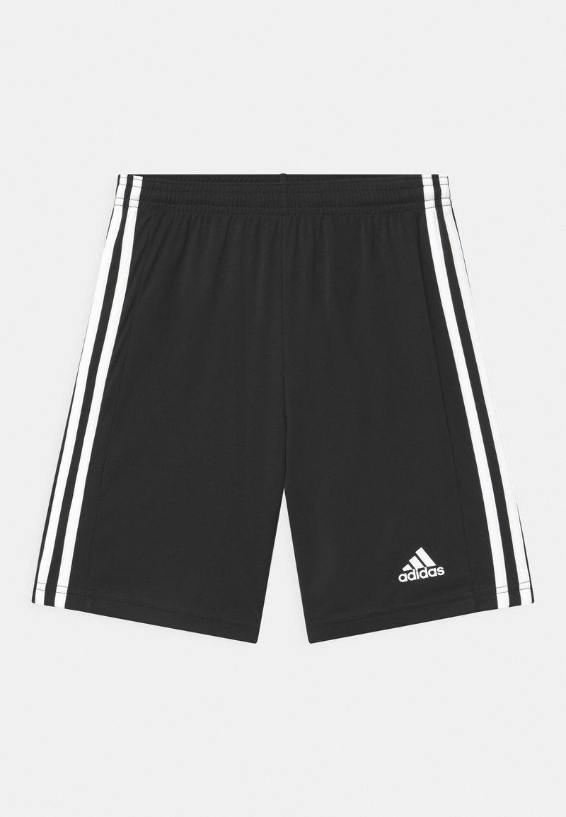 adidas Performance - SQUAD UNISEX - Sportovní kraťasy - black/white