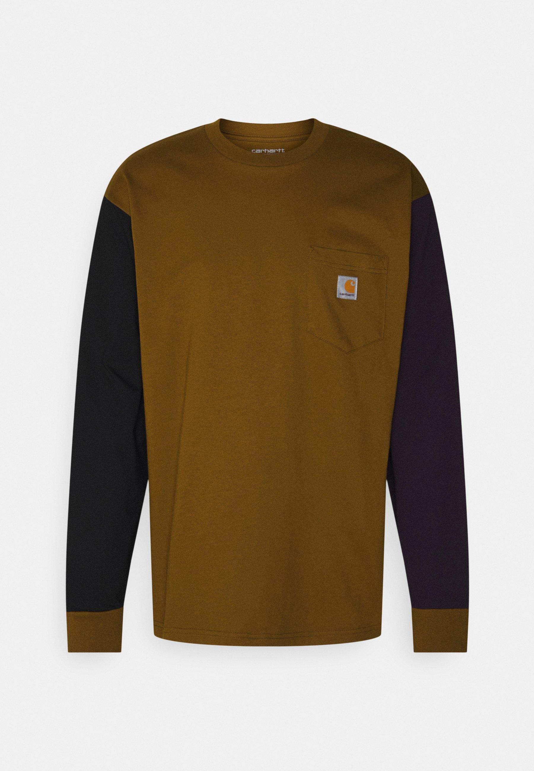 Men TRIPLE POCKET - Long sleeved top