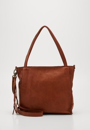 ROCCA - Shopping bag - cognac