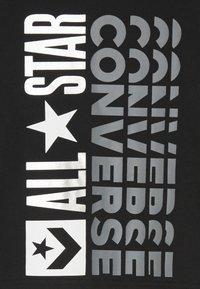 Converse - LOGO REMIX  - Maglietta a manica lunga - black - 3