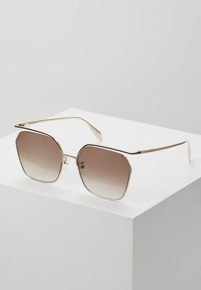 SUNGLASS WOMAN  - Sonnenbrille - gold-coloured/brown