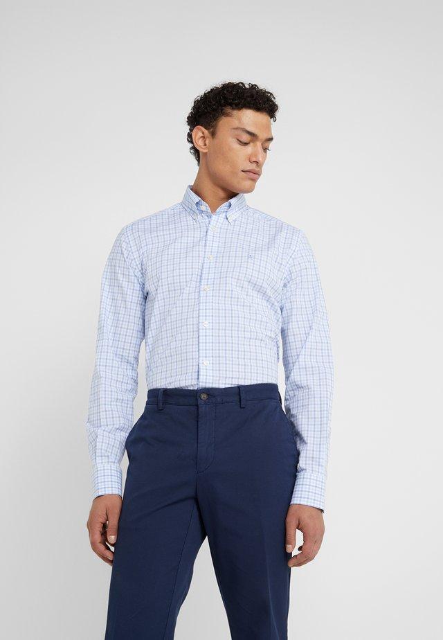 PREPPY GINGHAM CHECK SLIM FIT - Camisa - blue/sky